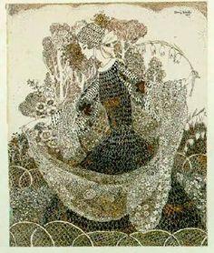 Annie French (1872-1965) Princess Melilot