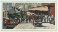 """The 10:30 Ltd.""  (Cornish Riviera Express) at Paddington."