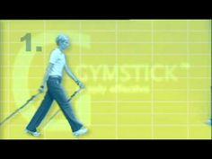 ▶ Gymstick Nordic Walking technique - YouTube