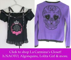 ☂ I'm selling a ton of my Japan Goth Lolita Steampunk Jrock clothes! ☂    Brands include Emily Temple, h.NAOTO, Sourpuss, Bettie Page - happy to give discounts. Here's the link to the listings - Please share with your friends!      http://www.lacarmina.com/blog/2013/07/egl-sales-buy-gothic-lolita-clothing/    pastel goth clothes, buy gothic clothing