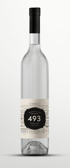 493 grappa by TRIP #design #grappa #label #packaging