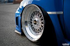 Subaru Impreza WRX STi Canibeat BBS wheels