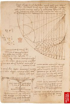 The Leonardo Notebook   http://www.bl.uk/onlinegallery/ttp/leonardo/accessible/images/page7full.jpg