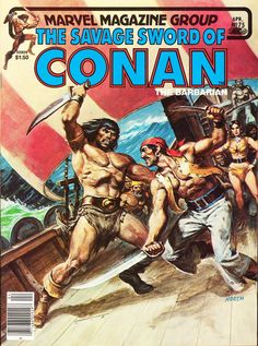 Savage Sword of Conan #75 - Norem