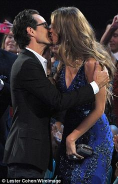 Newlyweds Marc Anthony and Shannon de Lima make PDA-filled debut Marc Anthony And Jlo, Got Married, Getting Married, Dayanara Torres, New Wife, Famous Faces, His Eyes, Jennifer Lopez