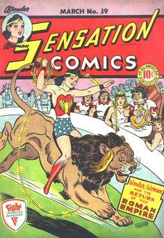 Wonder Woman in Sensation Comics #39   comic books comics