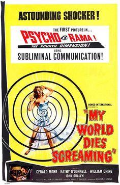 My World Dies Screaming - 1958 - Movie Poster