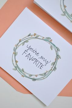 You're my favorite // by The Lovely Bee