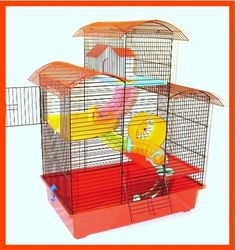 Belmont Hamster Cage Large Multi Level Mouse Gerbil -- Read extra evaluations of the item by checking out the web link on the photo. (This is an affiliate link). Hamster, Gerbil, Small Animal Cage, Pet Cage, Birdcages, Cute Birds, Picture Link, Pet Stuff, Pet Supplies
