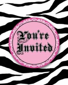 Super Stylish Zebra Print Invitations w/Attachment 8 Per Pack by Creative Converting. $7.50. Creative Converting is a leading manufacturer and distributor of disposable tableware including high-fashion paper napkins plates cups and tablecovers in a variety of solid colors and designs appropriate for virtually any event