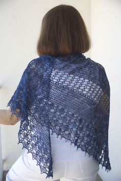 summer breeze crocheted shawl pattern