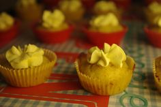 Cupcakes mustard cheese - moutarde gruyère