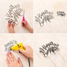 Learn how to make a darling and simple bunting cake topper 3 ways to decorate your wedding dessert table for less than 75 solutioingenieria Image collections