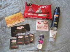 My J'Adore VoxBox arrived today from Influenster! Hershey's Kisses, Vaseline Men Spray Lotion, Kiss Looks so Natural lashes, Botanics Ionic Clay Mask, John Frieda Frizz Ease 3 Day Straight Flat Iron Spray, Red Rose Simply Indulgent tea bags I received these products compliments of Influenster for testing purposes.