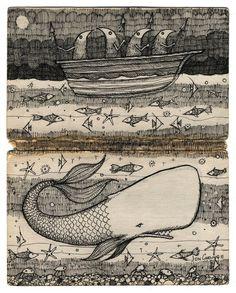 A Paper Bear Art Journal Tumblr — eatsleepdraw: 'The Last Merwhale' Jon Carling...