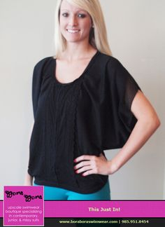 You can't go wrong with a black top and a fun colorful pair of jeggings!  SHIRT-$49.00 | JEGGINGS-$59.00