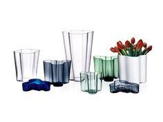 Alvar Aalto, vase 200 mm - clear - Iittala - Bohero