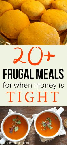 Frugal Meals for When Money is Tight Food makes up lot of our budgets. But what do you do when money is really tight? Here are frugal meals to make when your budget is super small. Inexpensive Meals, Cheap Dinners, Budget Dinners, Super Cheap Meals, Cheap Meals For Two, Simple Cheap Meals, Cheap Meals On A Budget Families, Cheap College Meals, Budget Lunches