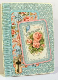 Secret Garden card by Janice Rosenthal Rock #graphic45