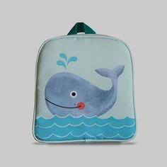 Excited to share the latest addition to my #etsy shop: Rybka - Small Backpack 2-3 Years, Kids Backpack, Toddler Bag, Preschool Kids, Playgroup bag, Whale http://etsy.me/2CFCv8i #bagsandpurses #backpack #blue #kids #toddlerbag #preschoolkids #playgroupbag #gift #birthda