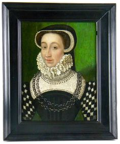 Portrait of a Lady (Caherine de Medici?), French School c 1570