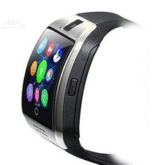 Bluetooth Smart Watch Curved surface Camera Support SIM Card For Smartphone