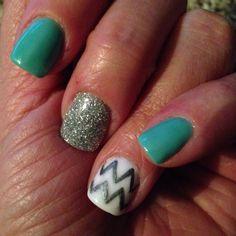 Amazing Nails Concept Anc Chevron