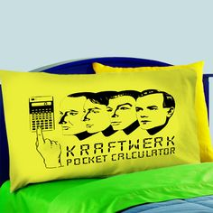 Mz3-kraftwerk Computer World Pillow Case For Bed Bedding