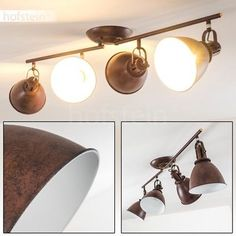 Deckenleuchten Büromöbel Wohnzimmer Design Spotleiste Deckenstrahler Deckenlampe Esszimmer Küche Lampe