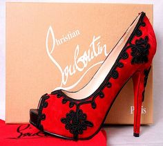 red high heels *