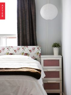 Before & After: A Bestie's Bedroom Makeover
