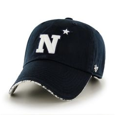 Navy Midshipmen '47 Brand Women's Olivia Clean Up Adjustable Hat - Navy