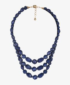 Faceted Bead Necklace  $6.80 - for the NAVY obsession