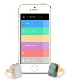Ringly: El anillo de las notificaciones para iOS