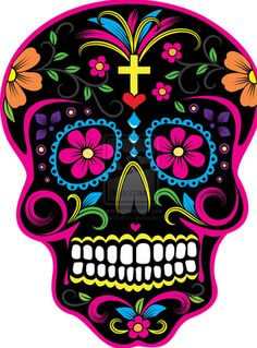 The art of Dia de los Muertos has been important to Mexican culture for many of years. This is a time of year to remember loved ones that have passed away. Like islamic culture, Mexican culture uses bright vibrant colors, flowers, and different shapes