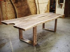 Offerman Woodshop » Aux Sable Table (Nick Offerman from Parks & Recreation)