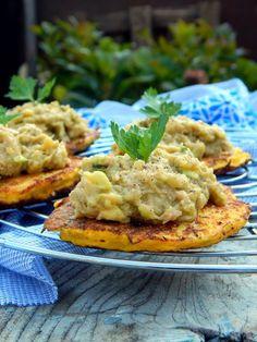 Karfiollepények avokádós tonhalkrémmel... Meat, Chicken, Foods, Beef, Food Food, Cubs