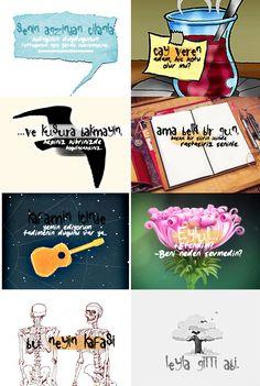 Leyla ile Mecnun'dan sözler Coldplay, Movie Quotes, Caricature, Peanuts Comics, Wallpaper, Illustration, Tumblr, Poster, Movies