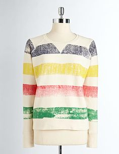 4543c94c0737 HUDSON S BAY COMPANY COLLECTION Antique Cotton Sweatshirt Hudson Bay  Blanket
