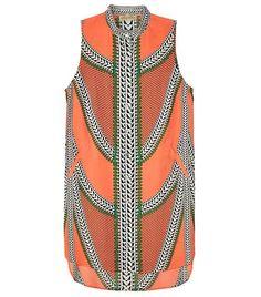 sleeveless shirt dress for easy summer styling