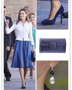 Queen Letizia of Spain attends the opening of the Scholar University College year at the Salamanca University on 14 September 2017.