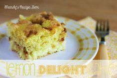 Lemon Delight Cake | Mandy's Recipe Box
