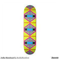 Jodha Skateboard - Supreme Hard-Rock Maple Deck Custom Boards By Talented Fashion & Graphic Designers - #skating #skater #skateboarding #shopping #bargain #sale #stylish #cool #graphicdesign #trendy #design #designer #graphicdesigner #style