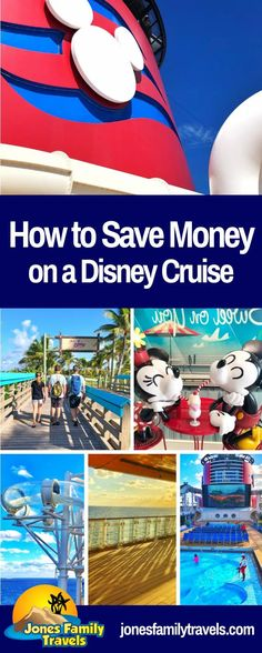 Are you planning for a future Disney Cruise? We share insider tips on how to save money on Disney Cruise vacations. #disney #disneycruise #disneycruiseline Disney On A Budget, Disney World Planning, Disney World Vacation, Disney Vacations, Disney Travel, Family Vacations, Family Cruise, Packing List For Cruise, Cruise Travel