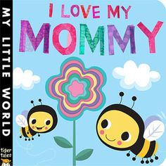 (Tiger Tales) Join a colorful cast of characters who all want to say thank you to Mom! This blossoming book of giving features concentric flower shapes. Perfect for snuggle time!