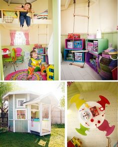 1000 images about playhouse design on pinterest modern for Wendy house ideas inside
