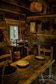 Log Cabin Photograph - Mark Twain Family Cabin by Priscilla Burgers Forest Cottage, Forest House, Witch Cottage, Forest Cabin, Witch House, Old Cabins, Cabins And Cottages, Rustic Cabins, Cabin In The Woods