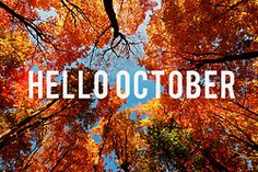hello october..