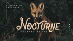Nocturne Free Vintage Font
