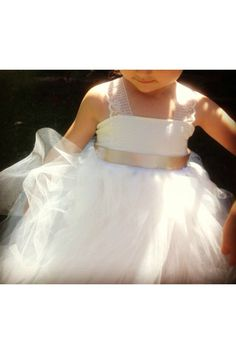 aaf216390b1 RESERVED for J- Toddler Girls Tulle Flower Girl Dress- DETAILS in our  Conversation-Lace-Cotton-Flower Girl